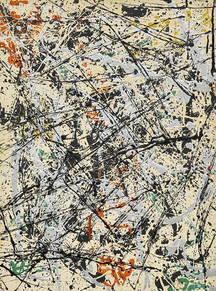 Sotheby's New York to offer Jackson Pollock drip painting in May sale series