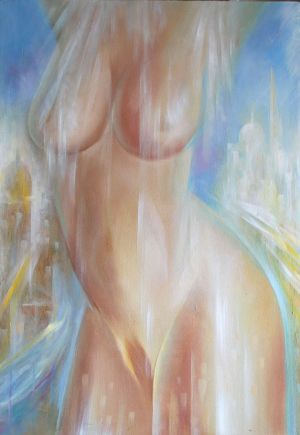 Painting, Nude (nudity) - Romantika-belyh-nochey