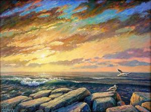 Painting, Seascape - Barencovo-more
