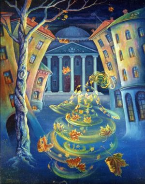 Painting, Surrealism - Vals-boston---1