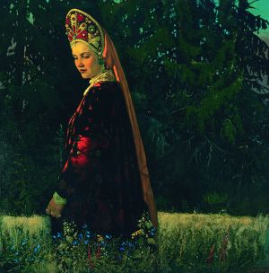 Painting, Plot-themed genre - Russian Beauty