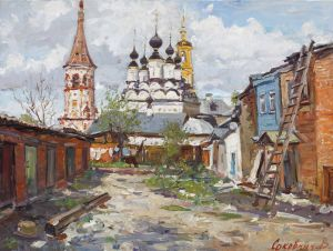 Painting, Landscape - Cathedral