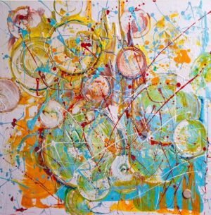 Painting, Abstractionism - NEPOP-MUZYKA