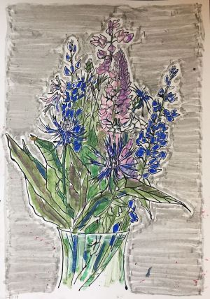 Graphics, Still life - Wildflowers