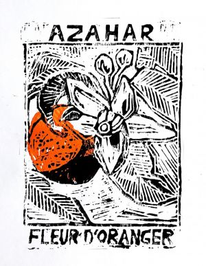 Graphics, Still life - Azahar