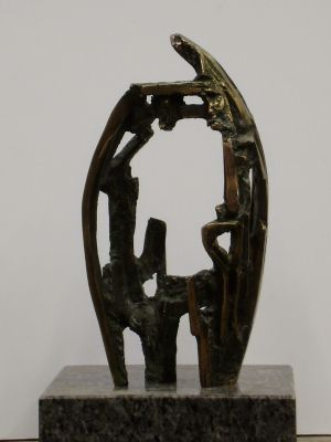 Sculpture, Allegory - Fuga--1
