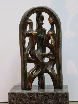 Sculpture, Allegory - Trio