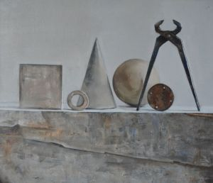 Painting, Still life - Geometry