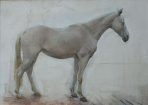 Painting, Animalistics - The horse