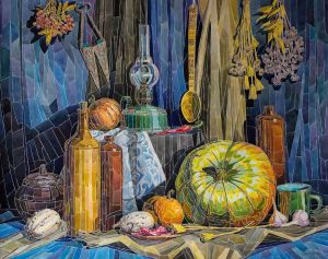 Graphics, Still life - Storeroom of autumn