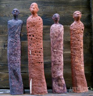 Sculpture, Historical genre - masai