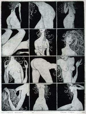 Graphics, Nude (nudity) - Eroticheskiy-leksikon