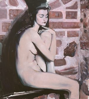 Painting, Nude (nudity) - Nu