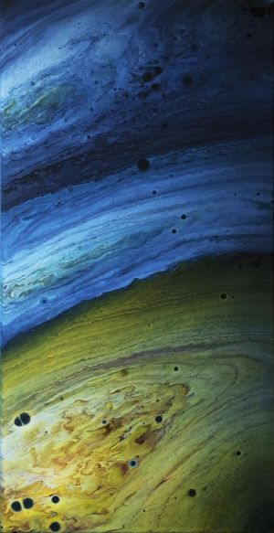 Painting, Abstractionism - Jupiter