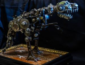 Sculpture, Animalistics - Tiranozavr
