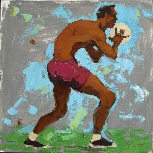 Painting, Expressionism - Voleybol