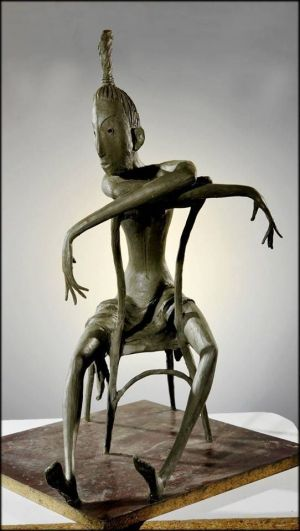 Sculpture, Mythological genre - BE LONELU,