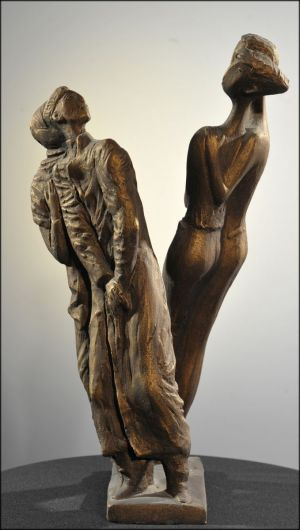 Sculpture, Allegory - HOW YOUNG WE WERE \