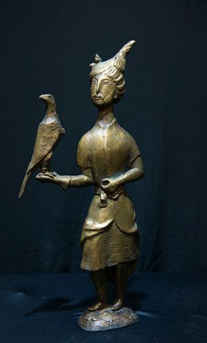 Sculpture, Mythological genre - PRINCE-of-the-Falcon