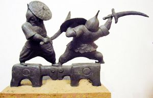 Sculpture, Allegory - Battle