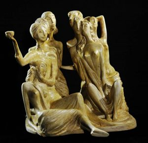 Sculpture, Romanticism - Seven beautiful,