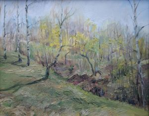 Painting, Landscape - Spring
