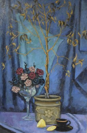 Painting, Still life - suhoe-derevo