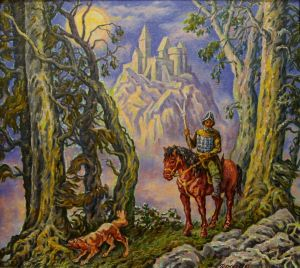 Painting, Mythological genre - Straj