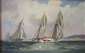 Painting, Seascape - Regata