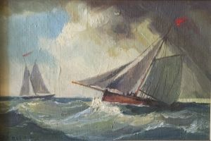 Painting, Seascape - More