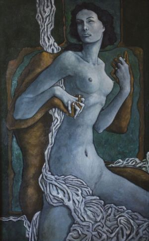 Painting, Nude (nudity) - Lyubovniki