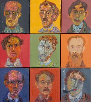 Painting, Fauvism - Portraits