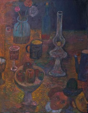 Painting, Fauvism - Supper