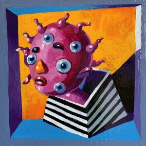Painting, Surrealism -  Virus