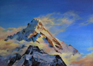 Painting, Realism - Everest