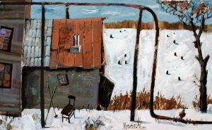 Painting, Landscape - Winter
