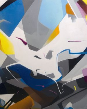 Painting, Abstractionism - Evolyuciya-II
