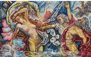 Painting, Nude (nudity) - Susannf and the elders