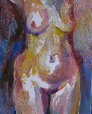 Painting, Nude (nudity) - Ona