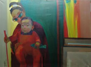 Painting, Expressionism - In Dalian