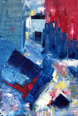 Painting, Abstractionism - Untitled