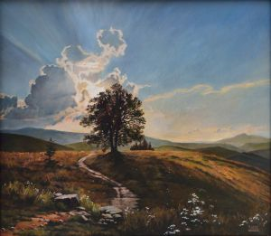 Painting, Landscape - Holmy