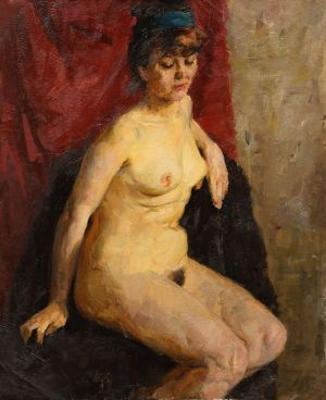 Painting, Nude (nudity) - Nude