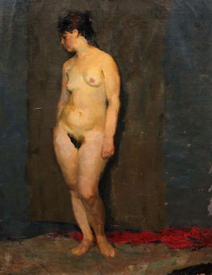 Painting, Realism - Nude
