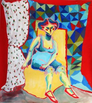 Painting, Fauvism - Model