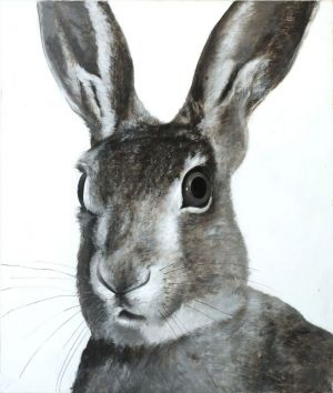 Painting, Academism - Hare