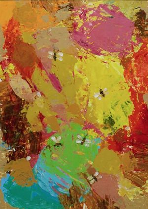 Painting, Abstractionism - Nectar