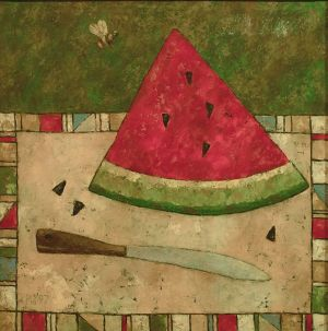 Painting, Primitivism - Summer