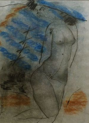 Graphics, Expressionism - Nude