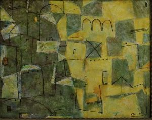 Painting, Abstractionism - After the rain